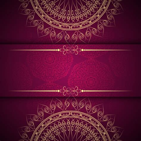 backdrop design vector free download abstract beautiful mandala design background vector free