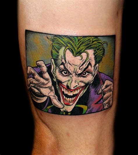 area 51 tattoos joker comic by chris 51 of area 51