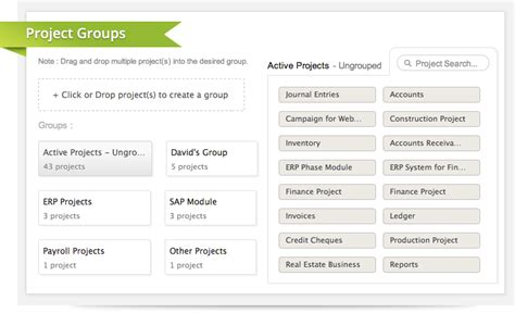 Just In Project Groups And Enhancements In Templates Zoho Blog Just Do It Project Template
