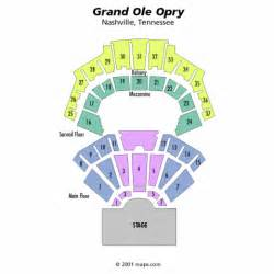 Grand Ole Opry Floor Plan by Grand Ole Opry Seating Chart