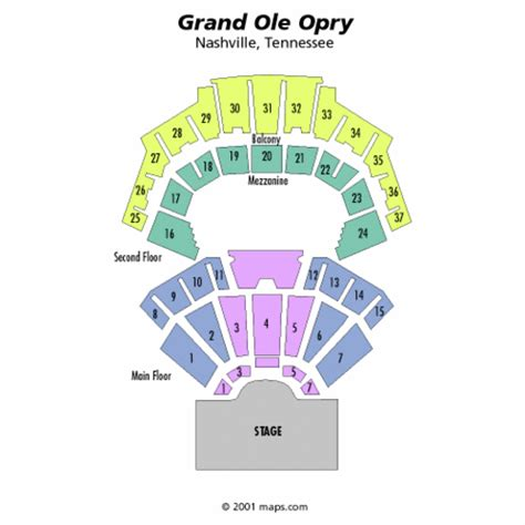 grand ole opry floor plan grand ole opry seating chart grand ole opry tickets
