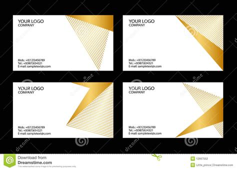 business card stock template business cards templates stock photography image 12667552