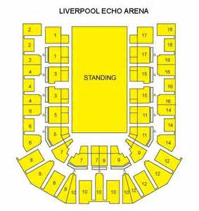 Liverpool Echo Arena Floor Plan by Liverpool Arena Seating Plan Liverpool Tickets