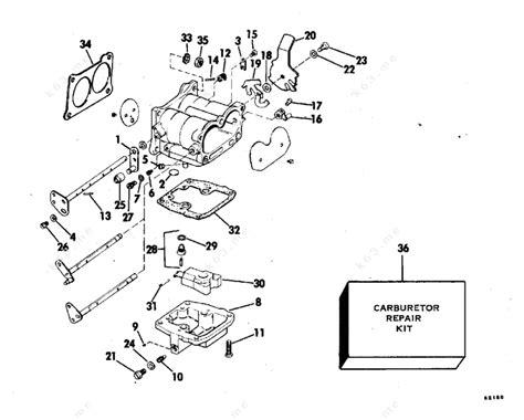 Johnson 1978 140 140tl78c Carburetor Parts Catalog