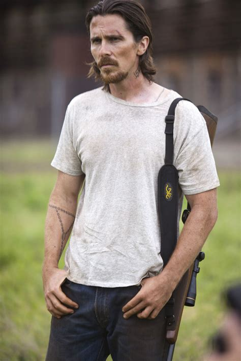 christian bale tattoo out of the furnace out of the furnace new images christian bale woody