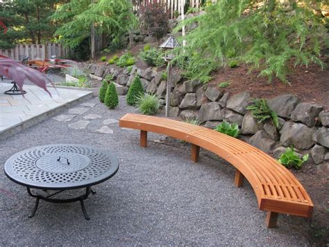 curved outdoor bench diy the 25 best curved outdoor benches ideas on
