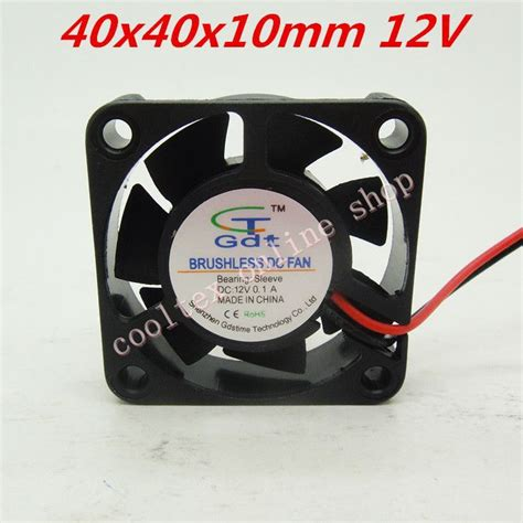 12 volt fans for cing 3pcs lot 40x40x10mm 4010 fans 12 volt brushless dc fans