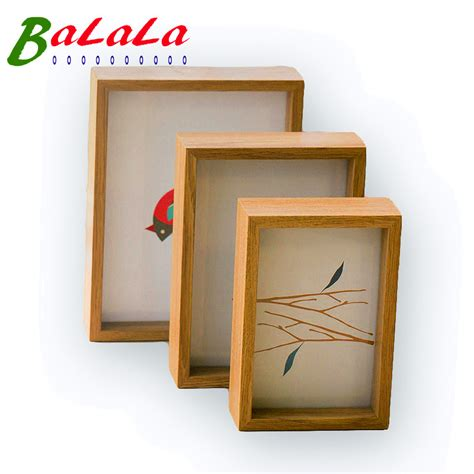 Handcrafted Picture Frames - aliexpress buy 4 x 6inch sided frame handmade