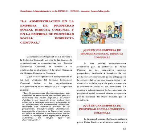 preguntas directas e indirectas que es empresa de propiedad social directa comunal monografias