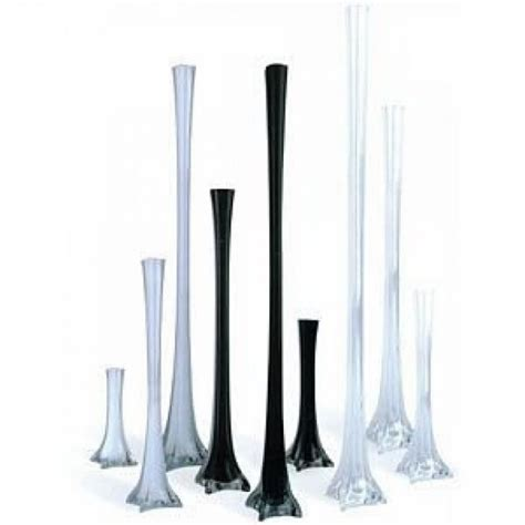 Glass Eiffel Tower Vase by Glass Eiffel Tower Vases