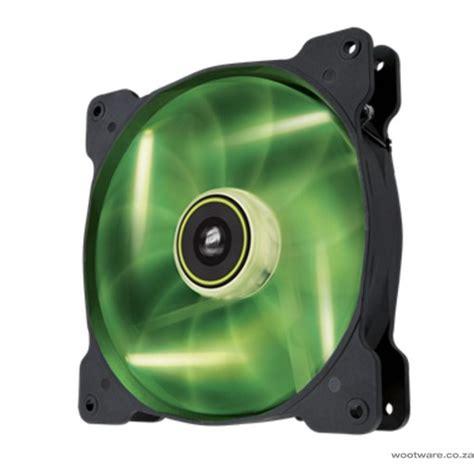 high static pressure fans 120mm corsair air series sp120 led green high static pressure