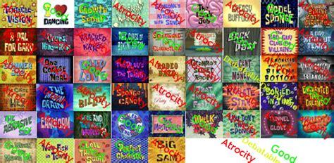 animated atrocities 68 are you happy now spongebob charts scorecards etc by mrenter on deviantart