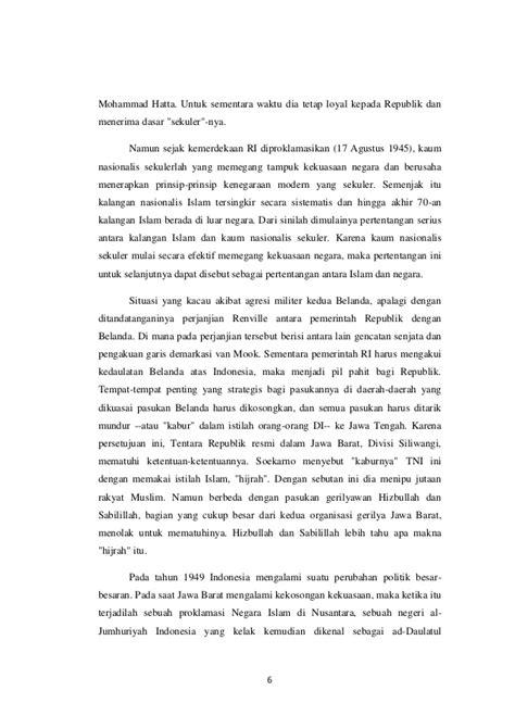 sejarah jejak perjuangan sm kartosuwiryo