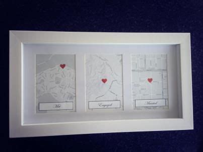 Love this idea for 1st wedding anniversary present! met