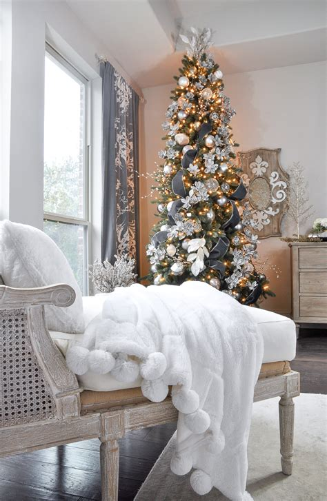 bedroom christmas tree deck the halls christmas home tour bedroom decor gold