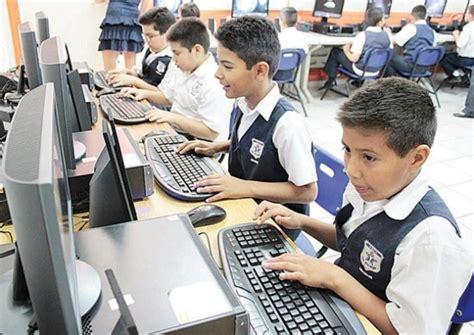 imagenes de niños usando la tecnologia 18 de escuelas p 250 blicas con computadoras tiene acceso a
