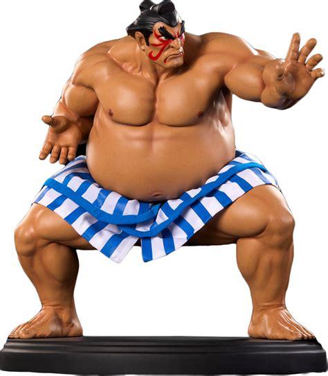 e honda figure fighter e honda 1 4 scale statue popcultcha