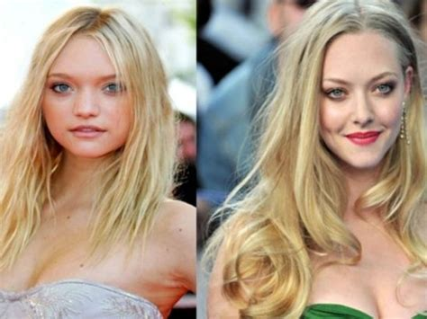 Look Clay In A Lotoh Sorry Spamalot by Amanda Seyfried And Gemma Ward 17 Who Look