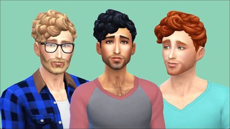 sims 4 cc guys hair maxis match cc for the sims 4 ice creamforbreakfast