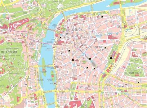 printable map prague image gallery prague map
