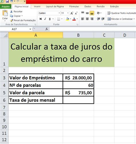 taxa de juros igpm 2014 como utilizar a fun 231 227 o taxa no microsoft excel 2010