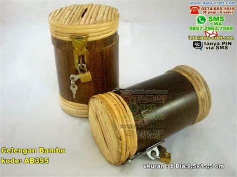 Celengan Gembok celengan bambu souvenir pernikahan