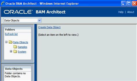 Ui Architect Description by Getting Started With Oracle Bam Web Applications 11g Release 1 11 1 1 6 1