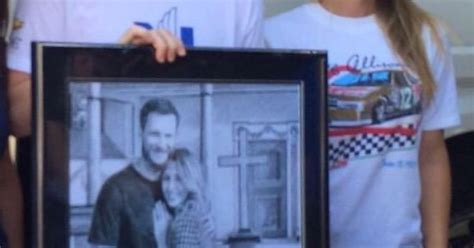 Dale Earnhardt Jr and Amy reimann.   Dale jr and Amy :D
