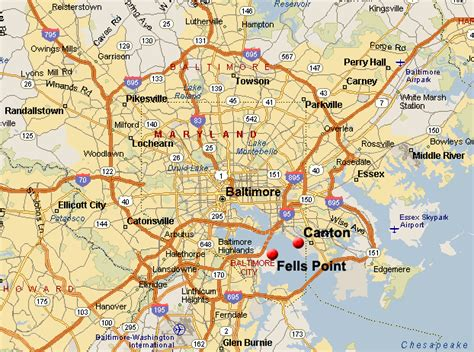 baltimore maryland map real estate listings of homes