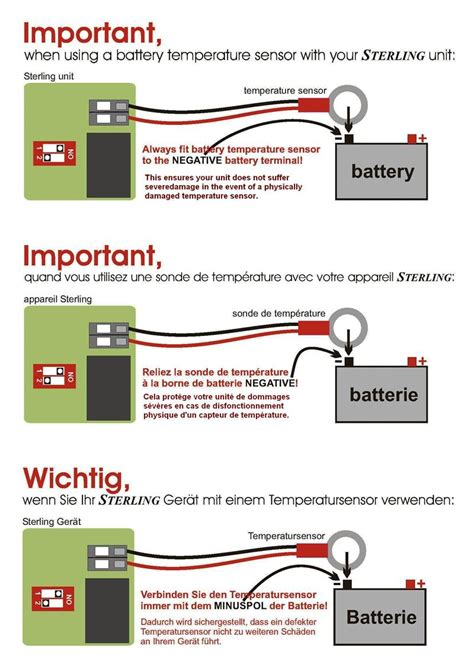 sterling power dc input alternator  battery charger