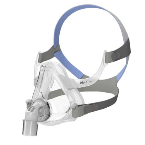 Cpapcentral Com Airfit F10 Full Face Cpap Mask With Headgear By Resmed Cpap Mask Fitting Template