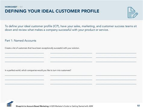 sales customer profile template define your ideal customer profile icp for abm terminus
