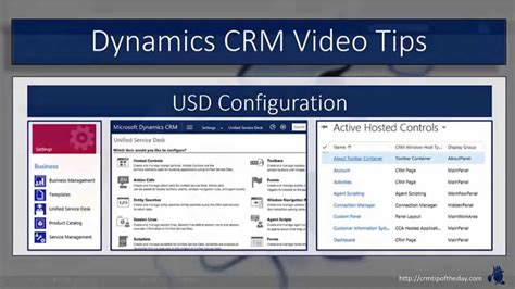 usd it help desk dynamics crm unified service desk hosted controls youtube