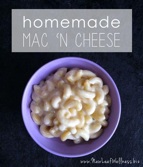 macaroni and cheese recipe new leaf wellness