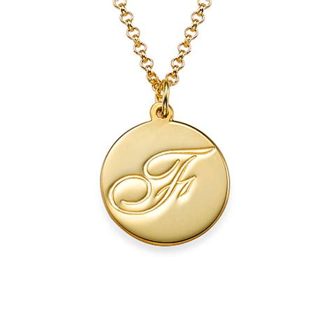 personalised 18ct gold sterling silver script initial