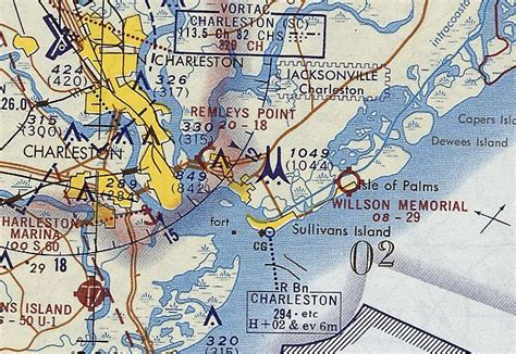 charlotte sectional chart abandoned little known airfields southeastern south