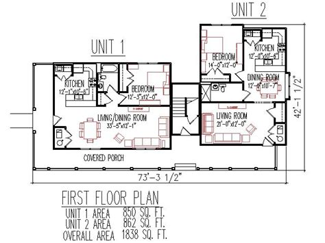 two bedroom duplex floor plans 2 bedroom 2 bath duplex house plans joy studio design