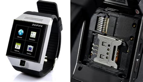 ZGPAX S5 Android 4.0 SmartWatch Features a Dual Core Processor, a SIM Card Slot