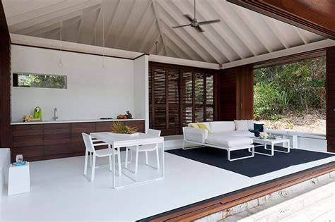 tropical beach house designs small tropical style beach house opens up to the world outside