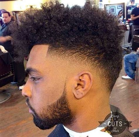 black men haircut hair ob top faded on sides and in back 40 best black haircuts for men mens hairstyles 2018