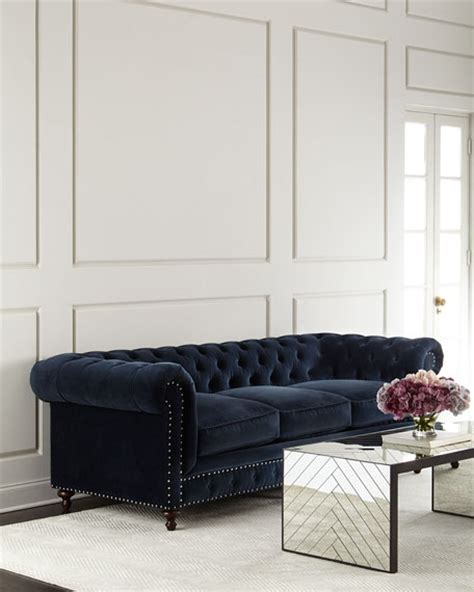 dusk tufted sofa neiman neiman home sale save 30 on furniture home decor