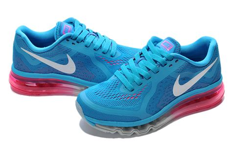 nike air max 2014 shoes blue white pink amgs10