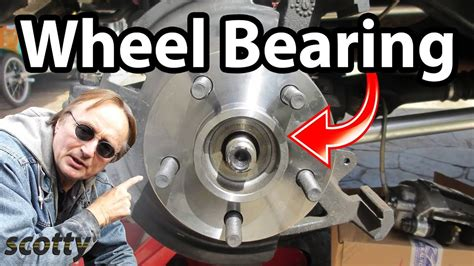 how to replace a rear wheel bearing in your car doovi