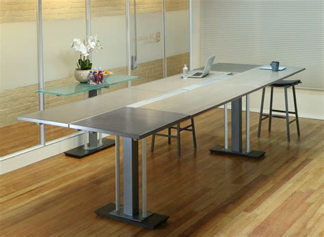 table standing stand up conference table stoneline designs