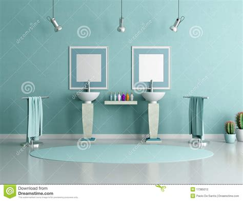 green and blue bathroom blue and green bathroom stock photography image 17385012