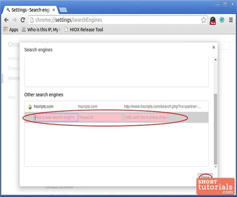 Chrome Address Bar Search Engine How To Change Manage Default Search Engine In