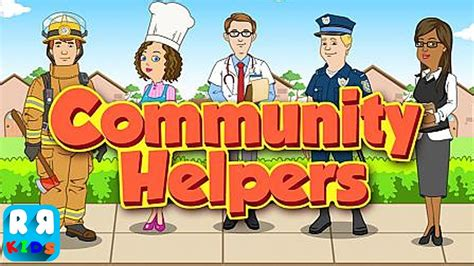 paper boat apps community helpers play learn educational game for kids