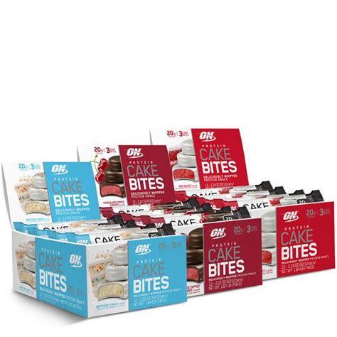 protein cake bites protein cake bites optimum nutrition