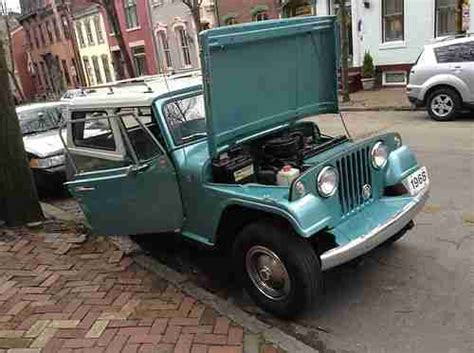jeep jeepster interior purchase used 1968 jeepster commando 3spd v 6 daily