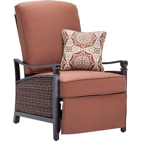la z boy patio recliner homesullivan finley fabric 1 piece recliner in dark grey